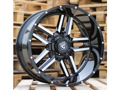Alu kola design Offroad 22x12 8x165.1 ET-44 125.1 černé