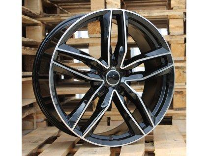 Alu kola design Audi 16x7 5x100 ET34 66.45 černé