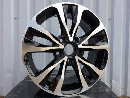 Alu kola design Toyota 16x7 5x114.3 ET39 60.1 černé