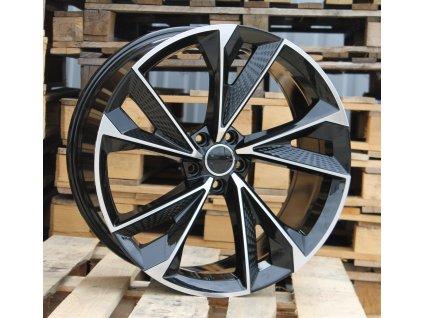 Alu kola design Audi 22x9.5 5x112 ET31 66.45 černé