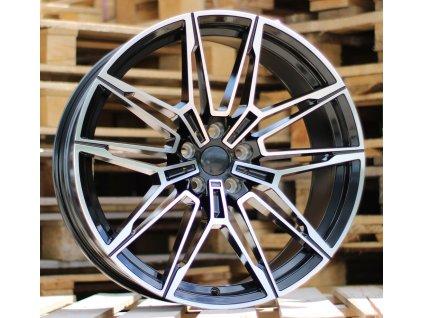 Alu kola design BMW 20x9.5 5x120 ET40 72.56 černé