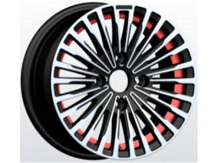 Alu kola design  15x6.5 4x100 ET35 73.1 černé