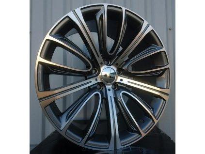 Alu kola design BMW 20x10 5x120 ET41 72.6 šedé