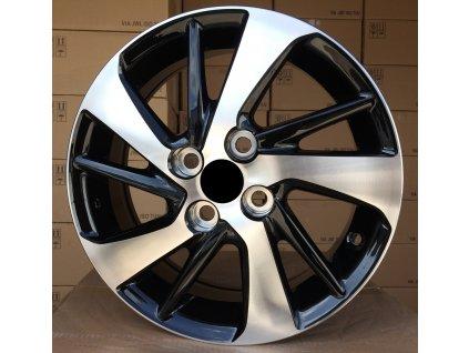 Alu kola design Toyota 15x5.5 4x100 ET45 54.1 černé