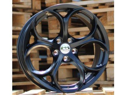Alu kola design Alfa Romeo 18x8 5x110 ET33 65.1 černé