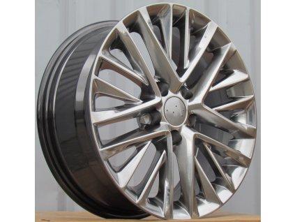 Alu kola design Lexus 17x7 5x114.3 ET35 60.1 černé