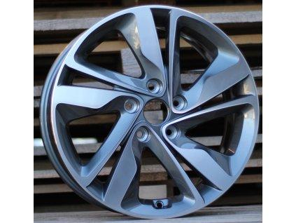 Alu kola design Hyundai 17x7 5x114.3 ET52 67.1 šedé