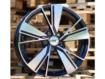 Alu kola design Volkswagen 18x7.5 5x112 ET51 57.1 černé