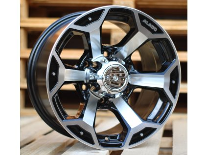 Alu kola design Offroad 15x10 6x139.7 ET-44 110 černé