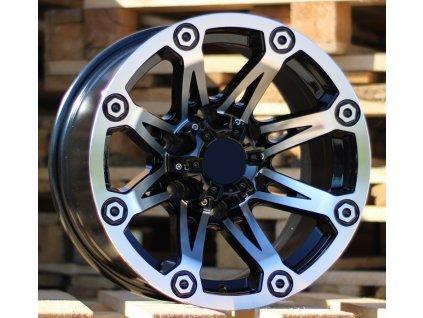 Alu kola design Offroad 15x8 6x139.7 ET-20 110 černé