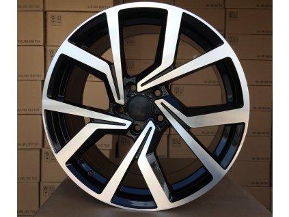 Alu kola design Volkswagen 18x7.5 5x100 ET40 57.1 černé