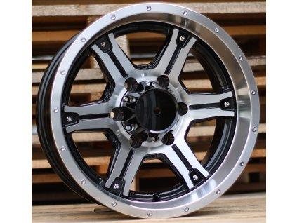 Alu kola design Offroad 16x8 6x139.7 ET-20 110 černé