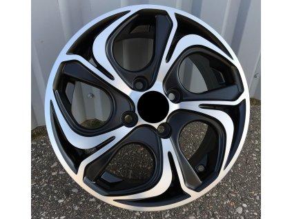 Alu kola design Ford 14x5.5 4x108 ET35 63.3 černé