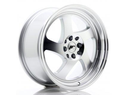 Alu kola Japan Racing JR15 17x8 ET25 4x100/108 Machined Silver