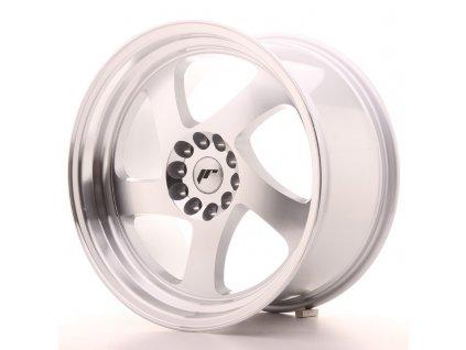 Alu kola Japan Racing JR15 18x9,5 ET22 5x114/120 Machined Silver