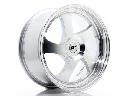 Alu kola Japan Racing JR15 19x8,5 ET20-40 Blank Silver Machined