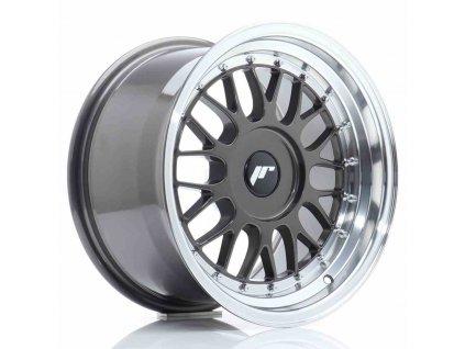 Alu kola Japan Racing JR23 16x9 ET20-35 BLANK Hyper Gray w/Machined Lip