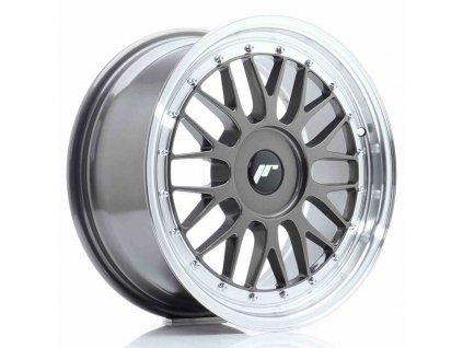 Alu kola Japan Racing JR23 17x8 ET20-45 BLANK Hyper Gray w/Machined Lip