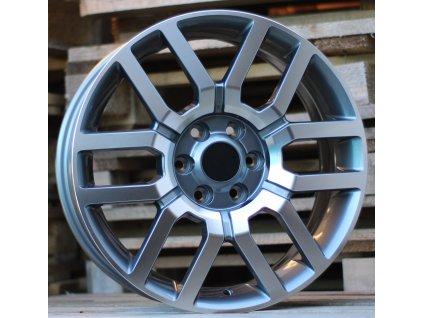 Alu kola design Nissan 17x7 6x114.3 ET30 66.1 šedé