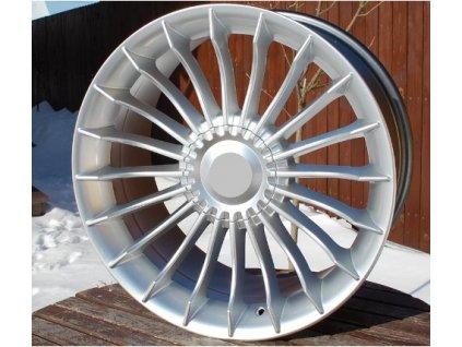 Alu kola replika Alpina 19x8 5x112 ET30 66.6 stříbrné