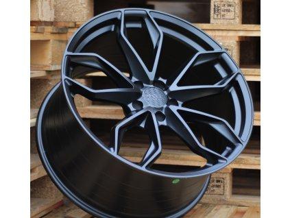 Alu kola Haxer 21x9 5x120 ET33 72.6 černé