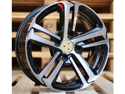 Alu kola design Citroen 17x7 4x108 ET25 65.1 černé