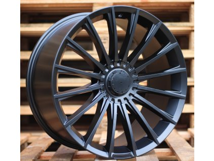 Alu kola design Mercedes 19x9.5 5x112 ET35 66.6 černé
