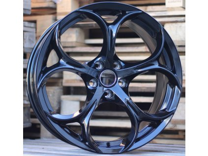 Alu kola design Alfa Romeo 17x7.5 5x110 ET32 65.1 černé