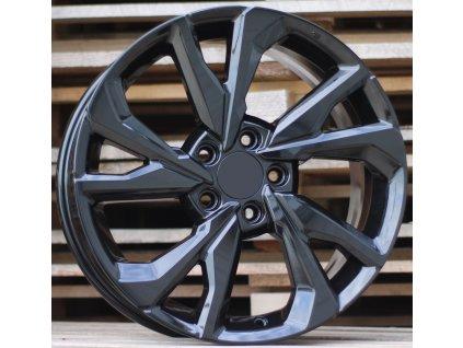 Alu kola design Honda 18x8 5x114.3 ET50 64.1 černé
