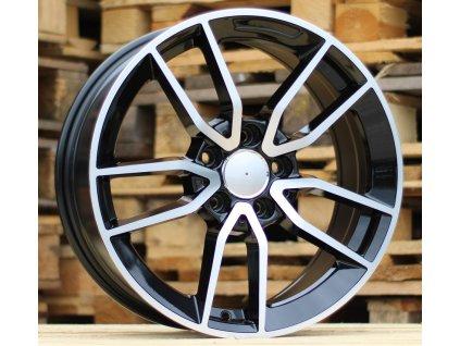Alu kola design Mercedes 19x8 5x112 ET43 66.5 černé