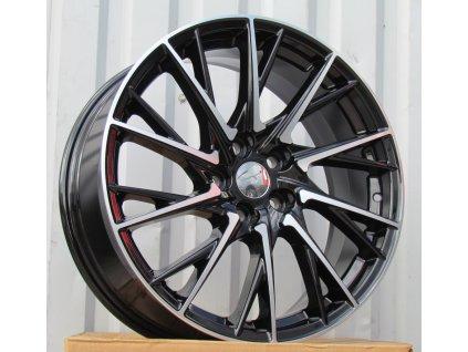 Alu kola design Lexus 19x7.5 5x114.3 ET35 60.1 černé