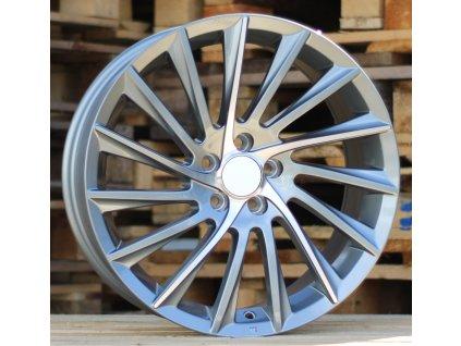 Alu kola design Alfa Romeo 17x7.5 5x110 ET30 65.1 šedé