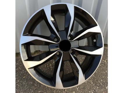 Alu kola design Nissan 15x6 4x100 ET50 60.1 černé