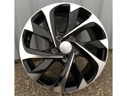 Alu kola design Toyota 16x6.5 5x114.3 ET40 60.1 černé