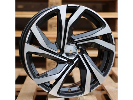 Alu kola design Renault 16x7 4x100 ET37 60.1 černé