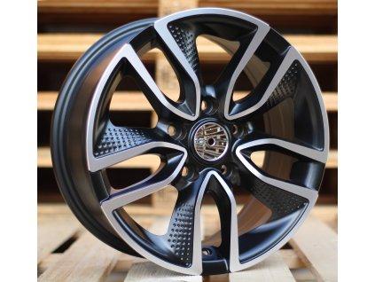 Alu kola design Hyundai 16x6.5 5x114.3 ET45 67.1 černé