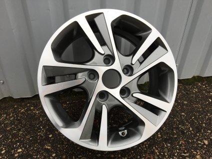 Alu kola design Hyundai 15x6 5x114.3 ET40 67.1 šedé