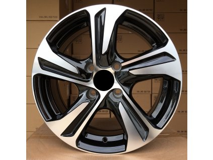 Alu kola design Toyota 17x7 5x114.3 ET39 67.1 černé