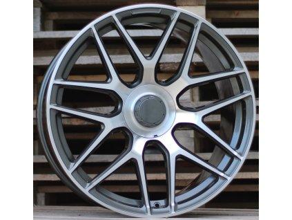 Alu kola design Mercedes 21x9 5x112 ET30 66.6 šedé