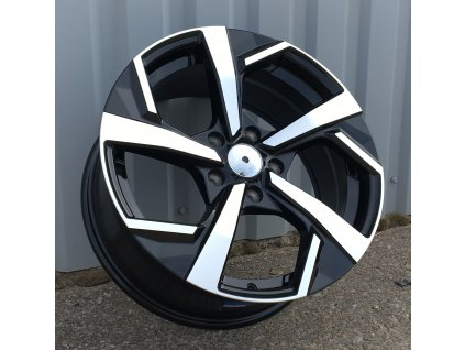 Alu kola design Nissan 16x6.5 5x114.3 ET40 66.1 černé