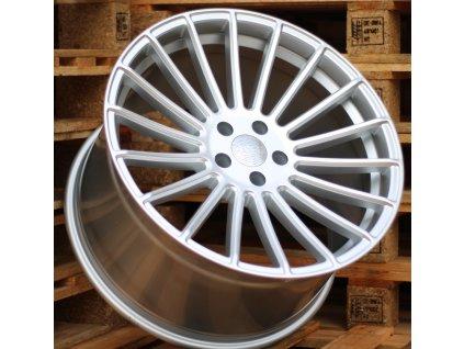 Alu kola Haxer 21x11.5 5x120 ET37 74.1 stříbrné