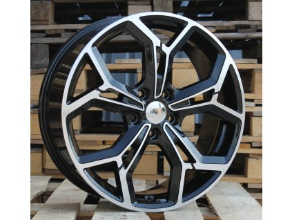 Alu kola design Kia 18x7.5 5x114.3 ET48.5 67.1 černé