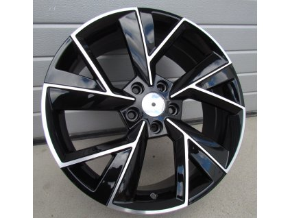 Alu kola design Škoda 18x7 5x112 ET43 57.1 černé