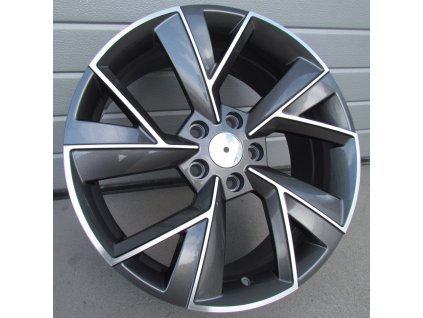 Alu kola design Škoda 18x7 5x112 ET43 57.1 šedé