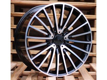 Alu kola design Mercedes 21x10 5x112 ET46 66.6 černé