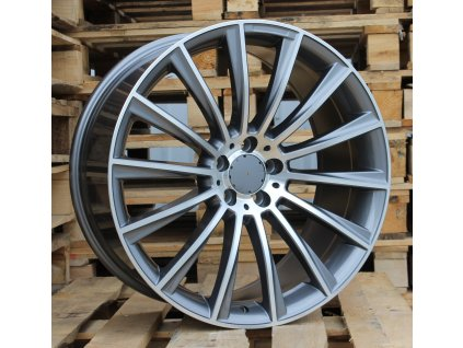 Alu kola design Mercedes 17x7.5 5x112 ET45 66.6 šedé