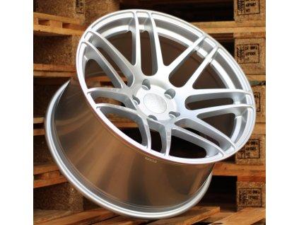 Alu kola Haxer 19x9 5x112 ET32 66.5 stříbrné