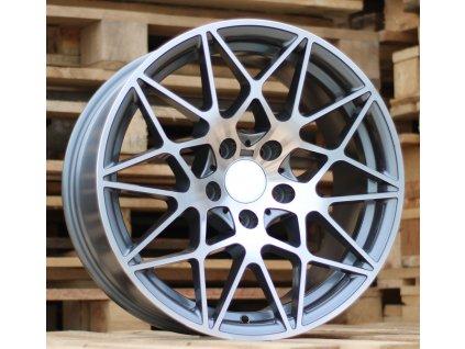 Alu kola design BMW 19x8.5 5x120 ET35 72.6 šedé