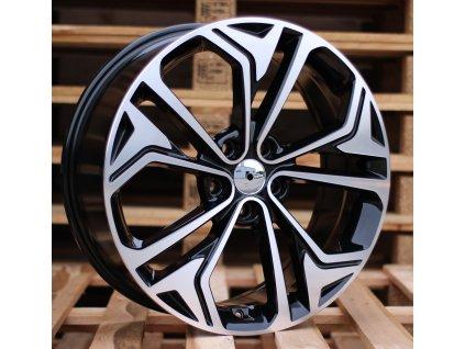 Alu kola design Hyundai 19x7.5 5x114.3 ET50 67.1 černé