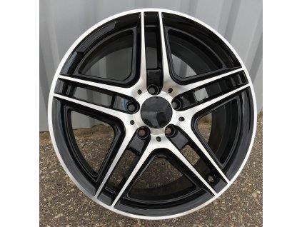 Alu kola design Mercedes 17x7.5 5x112 ET45 66.6 černé
